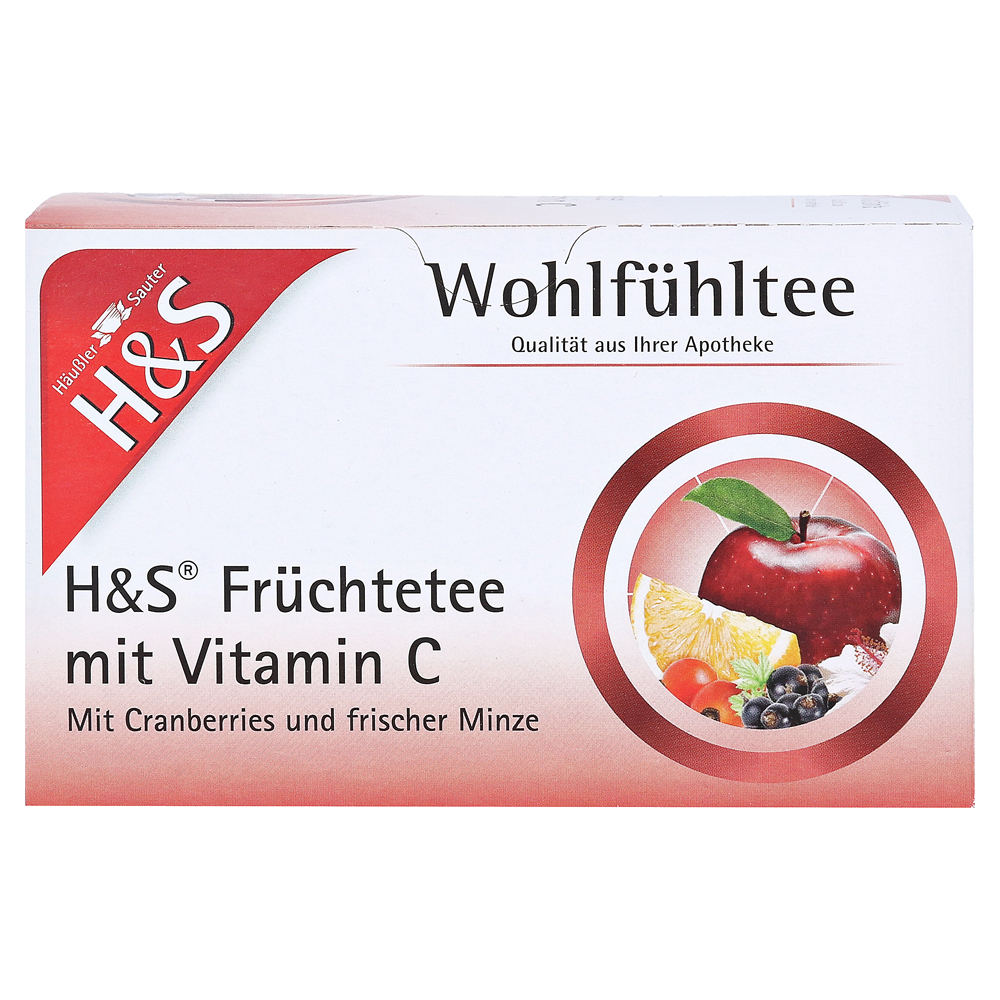 h s fr chte mit vitamin c filterbeutel 20 st ck online bestellen medpex versandapotheke. Black Bedroom Furniture Sets. Home Design Ideas