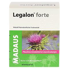 Legalon forte Madaus 60 Stück N2 - Vorderseite