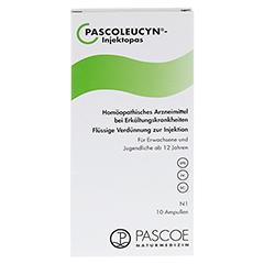 PASCOLEUCYN Injektopas Ampullen 10 Stück N1 - Vorderseite