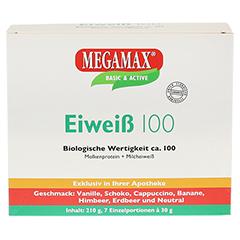 Eiweiss 100 Mix Kombi Megamax Pulver 7x30 Gramm - Vorderseite
