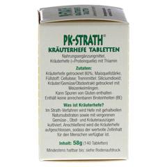 PK STRATH Kräuterhefe Tabletten 140 Stück - Linke Seite