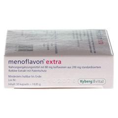 MENOFLAVON Extra Kapseln 30 Stück - Linke Seite
