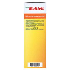 HERMES Multivit Brausetabletten 60 Stück - Linke Seite