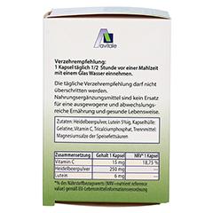 LUTEIN KAPSELN 6 mg+Heidelbeer 120 Stück - Linke Seite