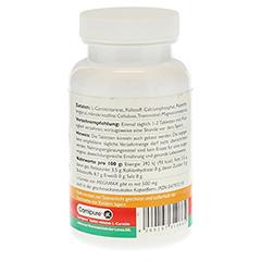 MEGAMAX L-Carnitin 500 mg Tabletten 60 Stück - Linke Seite