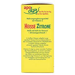 APODAY heiße Zitrone Vit.C Pulver 10x10 Gramm - Linke Seite