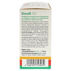 Eiweiss 100 Mix Kombi Megamax Pulver 7x30 Gramm - Linke Seite