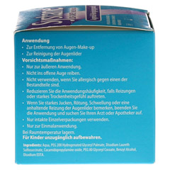 SYSTANE LID-CARE Einzelpads 30 Stück - Linke Seite