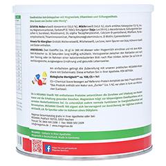 EIWEISS SCHOKO Megamax Pulver 750 Gramm - Rechte Seite