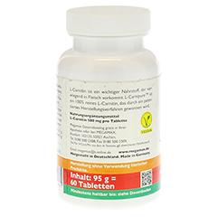MEGAMAX L-Carnitin 500 mg Tabletten 60 Stück - Rechte Seite