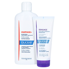 Ducray Anaphase+ Shampoo Haarausfall + gratis DENSIAGE Volumen-Conditioner 200ml 400 Milliliter