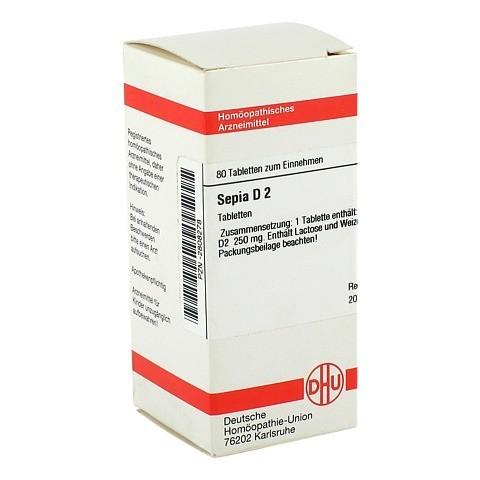 SEPIA D 2 Tabletten 80 Stück N1
