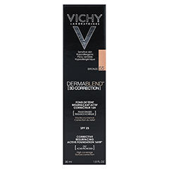 VICHY DERMABLEND 3D Make-up 55 30 Milliliter - Rückseite