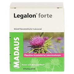 Legalon forte Madaus 60 Stück N2 - Rückseite