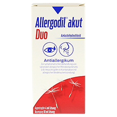 Allergodil akut Duo 1 Stück N1 - Rückseite