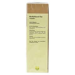 ROTBUSCH Tee Vanille Bio Filterbeutel 25 Stück - Oberseite