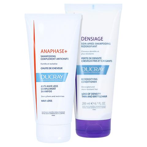 DUCRAY ANAPHASE+ Shampoo Haarausfall + gratis DENSIAGE Volumen-Conditioner 200ml 200 Milliliter