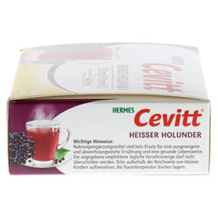 HERMES Cevitt heißer Holunder Granulat 14 Stück - Rechte Seite