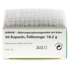 KIMUN Kapseln 30 Stück - Rechte Seite