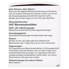 H&S Bärentraubenblätter 20 Stück N1 - Rechte Seite