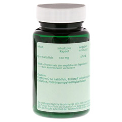 Q10 120 mg Kapseln 90 Stück - Rechte Seite