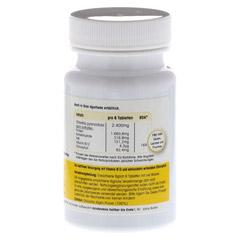 CHLORELLA 400 mg Tabletten 100 Stück - Rechte Seite