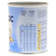 NOVALAC 2 Standard Folge-Milch 6-12 M. 800 Gramm - Rechte Seite