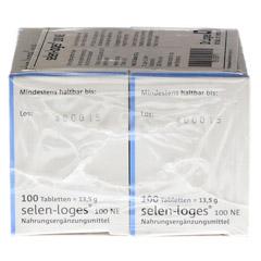 SELEN LOGES 100 NE Tabletten 200 Stück - Rechte Seite