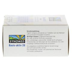 BASIS AKTIV 28 Tabletten 120 Stück - Rechte Seite