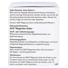 H&S Magentee bitter 20 Stück - Rechte Seite