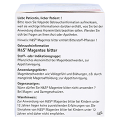 H&S Magentee Filterbeutel 20 Stück - Rechte Seite