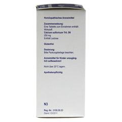 BIOCHEMIE Orthim 12 Calcium sulfuricum D 6 Tabl. 400 Stück N3 - Rechte Seite