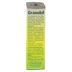 GRANOBIL Grandel Pastillen 100 Stück - Rechte Seite
