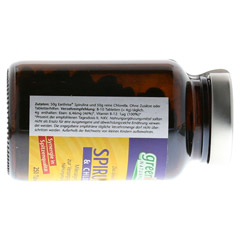 SPIRULINA+CHLORELLA Earthrise Tabletten 250 Stück - Rechte Seite