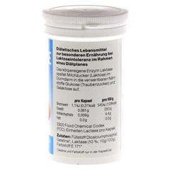 LAKTASE 3.300 FCC Enzym Kapseln 100 Stück - Rechte Seite