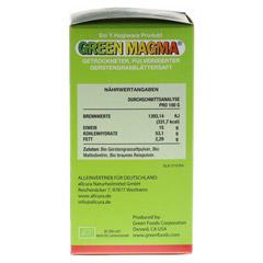GREEN MAGMA Gerstengrasextrakt Pulver 80 Gramm - Rechte Seite