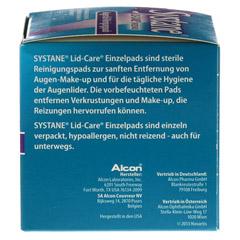 SYSTANE LID-CARE Einzelpads 30 Stück - Rechte Seite