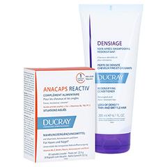 Ducray Anacaps Reactiv Kapseln + gratis DENSIAGE Volumen-Conditioner 200ml 30 Stück