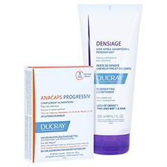 Ducray Anacaps Progressiv Kapseln + gratis DENSIAGE Volumen-Conditioner 200ml 30 Stück