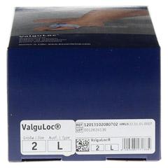VALGULOC links Gr.2 titan 1 Stück - Oberseite