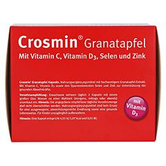 CROSMIN Granatapfel Kapseln 180 Stück - Oberseite