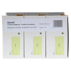 UROVIT Cranberry Pulver 90x3 Gramm - Oberseite
