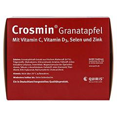 CROSMIN Granatapfel Kapseln 180 Stück - Unterseite