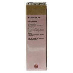 HIBISKUSTEE Bio Filterbeutel 25 Stück - Unterseite