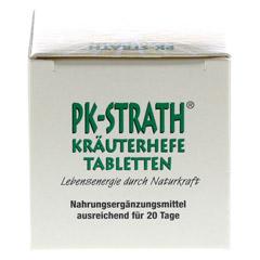 PK STRATH Kräuterhefe Tabletten 140 Stück - Unterseite