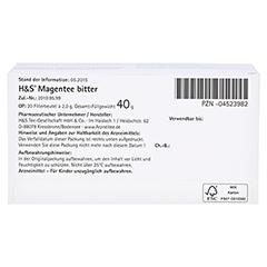 H&S Magentee Filterbeutel 20 Stück - Unterseite