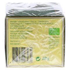 Vata Tee Filterbeutel 18 Gramm - Unterseite