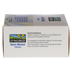 BASIS MENTAL Tabletten 120 Stück - Unterseite