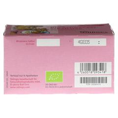 SIDROGA Bio Schwangerschaftstee Filterbeutel 20x1.5 Gramm - Unterseite