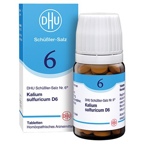 BIOCHEMIE DHU 6 Kalium sulfuricum D 6 Tabletten 80 Stück N1